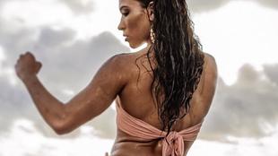La mediática Valerie Loureda, que también triunfa como modelo, fue...