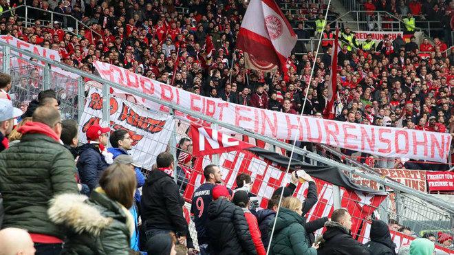 Aficionados del Bayern.