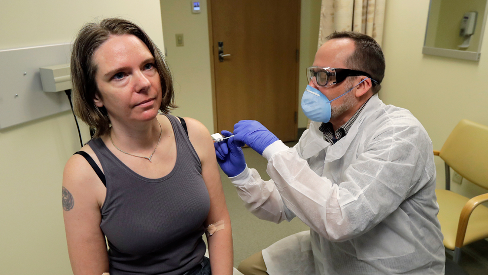 Coronavirus: Estados Unidos prueba la primera vacuna experimental ...