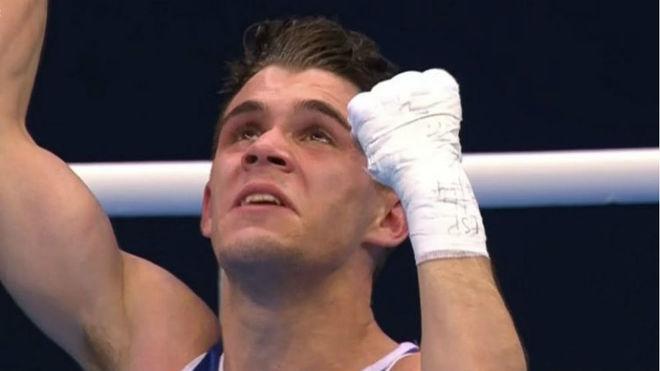 Gabriel Escobar lloró tras lograr la clasificación.