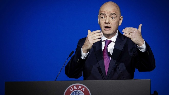 Federation Internationale de Football Association president Gianni Infantino suggests moving Club World Cup dates