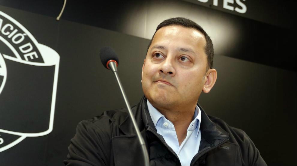 Anil Murthy, en la Agrupacióno de Peñas.
