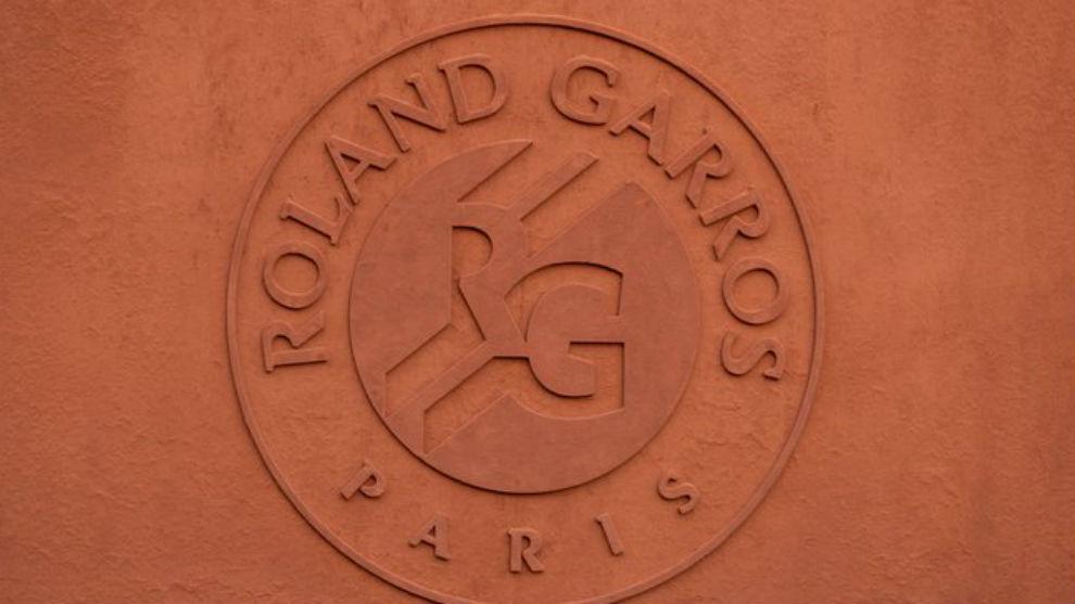 El escudo de Roland Garros