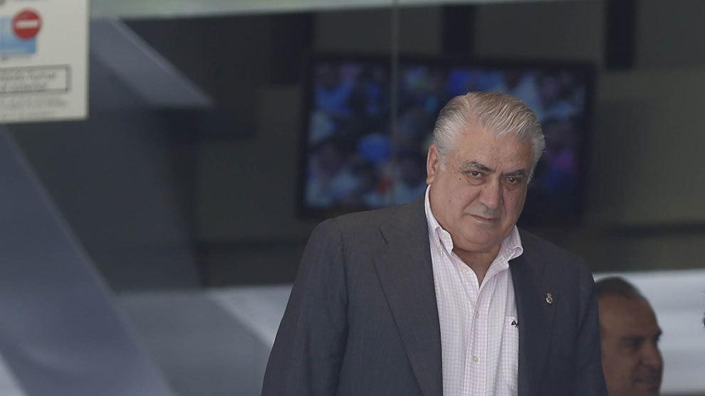 Lorenzo Sanz, expresidente del Real Madrid.