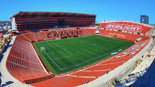 Estadio Caliente en Tijuana.