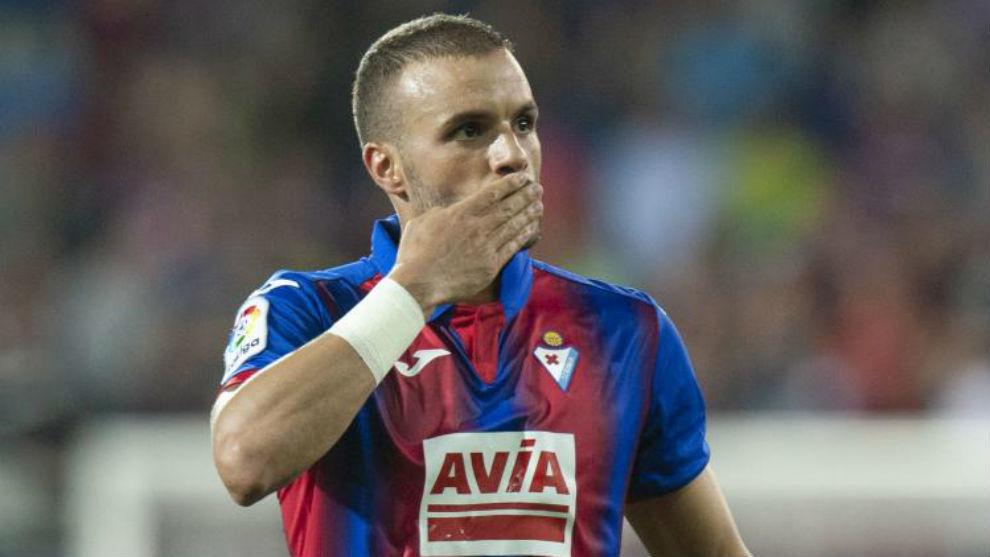 Pedro León en una imagen de esta temporada.