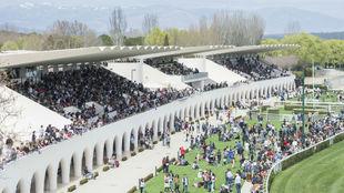 Una Imagen del Hipódromo de La Zarzuela