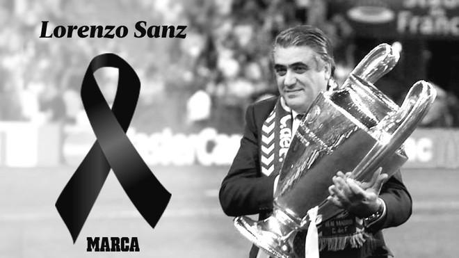 Muere Lorenzo Sanz, ex-presidente del Real Madrid víctima del...