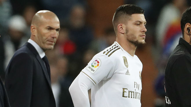 Coronavirus: Real Madrid set to offload Luka Jovic to Chelsea, Tottenham