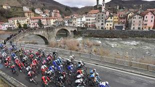 Imagen de archivo de la Milán-San Remo.