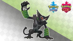 Zarude, el nuevo Pokémon singular de Espada y Escudo.