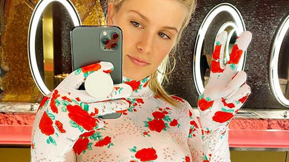 Selfie de la tenista canadiense Genie Bouchard