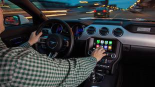 Manejar CarPlay o Android Auto de forma táctil es la acción más...