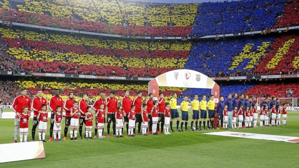 La final de Copa de 2015, entre Athletic y Barcelona.