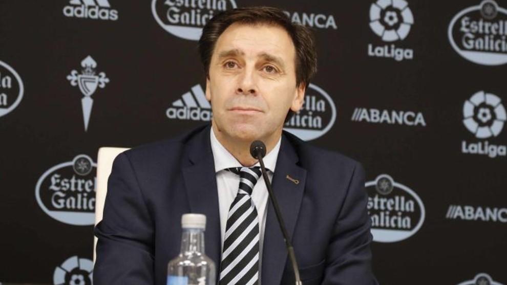 Felipe Miñambres, durante una rueda de prensa.