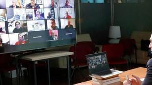 Las nuevas formas de comunicción: videoconferenci,vídesollamadas,...