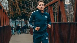 Lorenzo, corriendo en Lugano hace unas semanas.