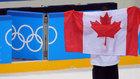 Matt Robinson, deportista canadiense, durante una cita olímpica