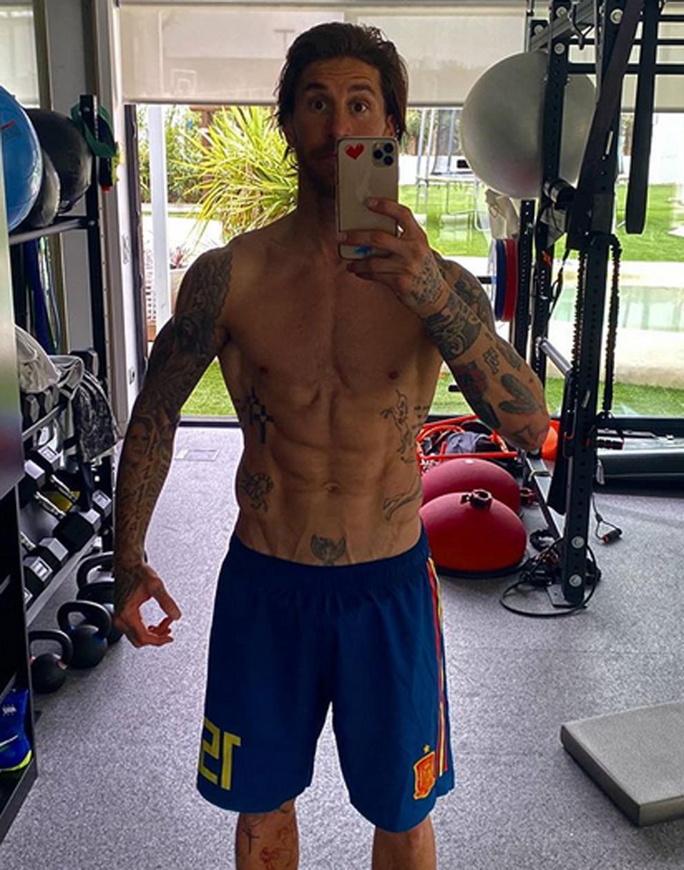 Sergio Ramos Instagram