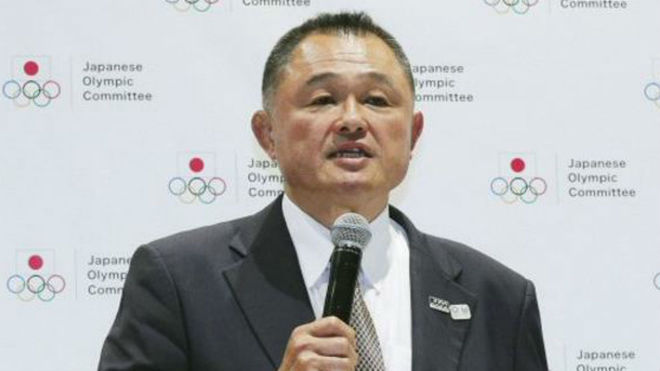 Yasuhiro Yamashita, presidnete del Comité Olímpico Japonés.