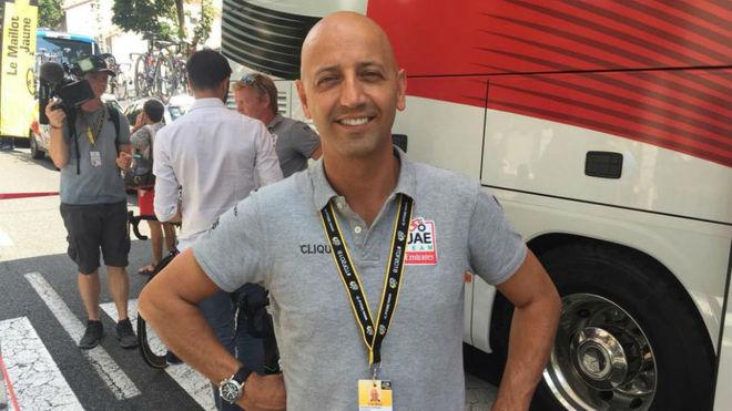 Josean Fernández, 'Matxin', director de UAE Team.