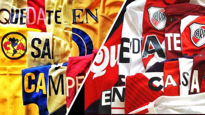 América y River Plate instan a sus aficionados de esta manera.