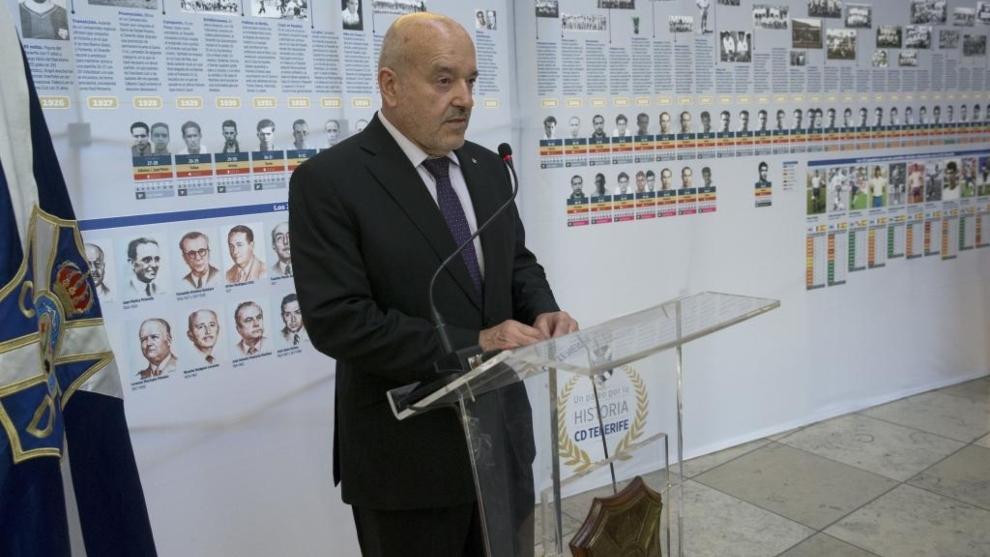 Mivguel Concepción, presidente del Tenerife