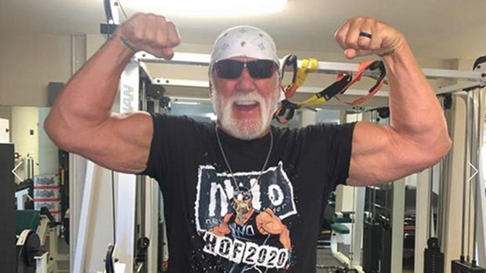 Hulk Hogan, leyenda de la WWE