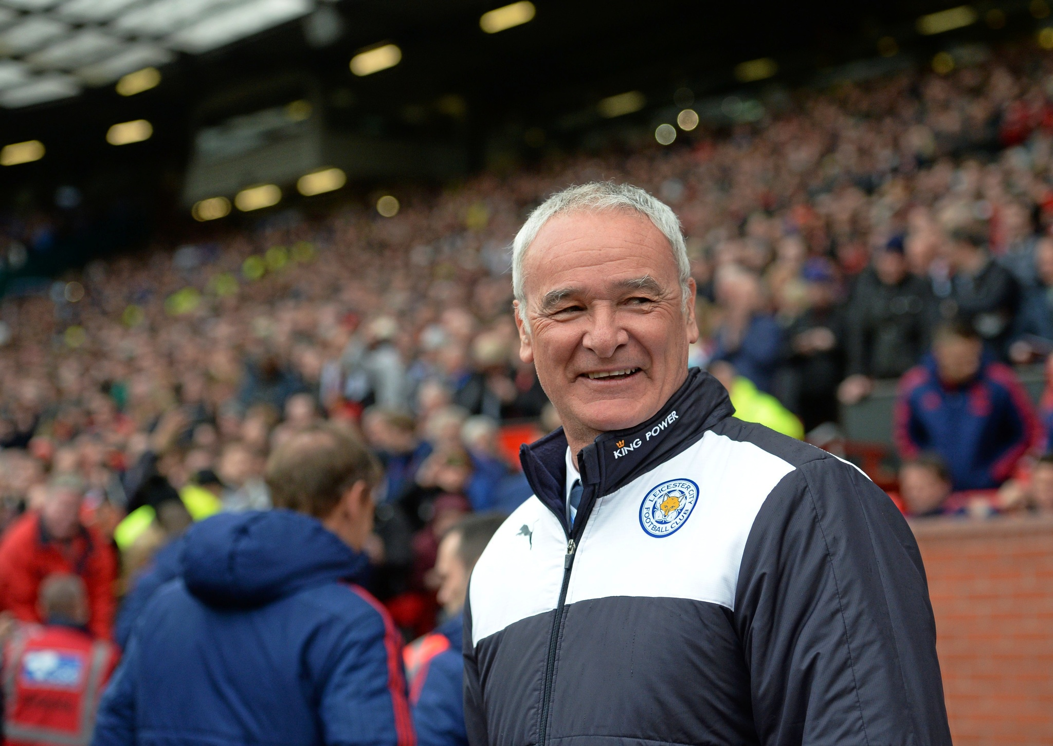 lt;HIT gt;Leicester lt;/HIT gt; Citys Italian manager Claudio lt;HIT gt;Ranieri lt;/HIT gt; arrives for the English Premier League football match between Manchester United and lt;HIT gt;Leicester lt;/HIT gt; City at Old Trafford in Manchester, north west England, on May 1, 2016. / AFP PHOTO / OLI SCARFF / RESTRICTED TO EDITORIAL USE. No use with unauthorized audio, video, data, fixture lists, club/league logos or live services. Online in-match use limited to 75 images, no video emulation. No use in betting, games or single club/league/player publications. /