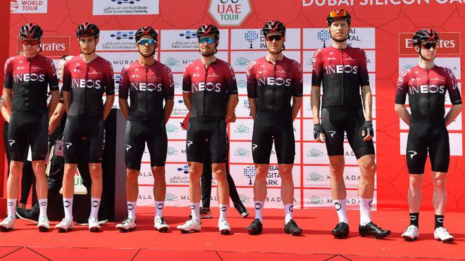 El equipo ciclista INEOS