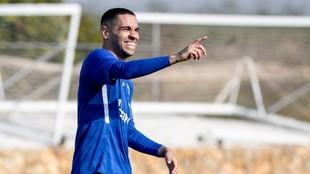 Omar Mascarell, con el Schalke