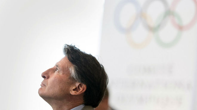 Sebastian Coe, presidente de World Athletics