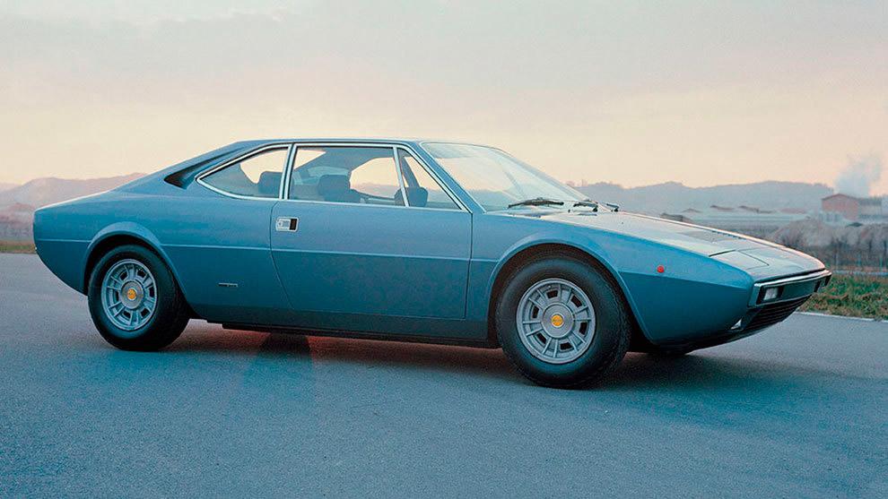 El Dino fue el modelo que estrenó en 1973 el primer V8 de Ferrari.