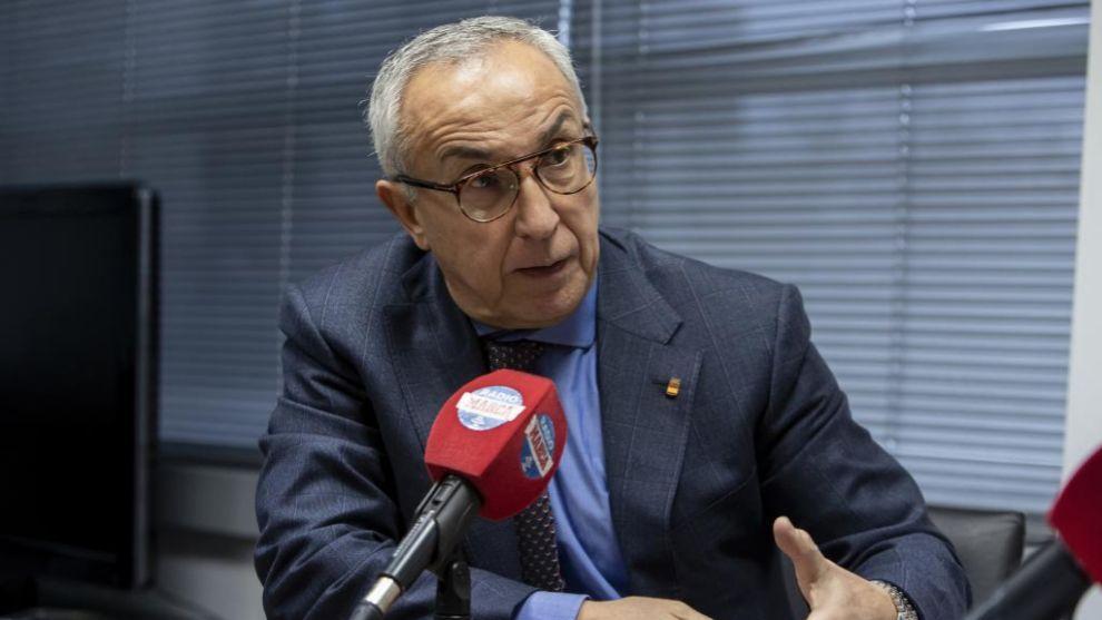 Alejandro Blanco durante una entrevista en Radio MARCA
