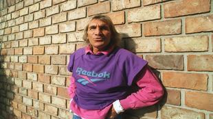 Hugo Gatti, durante un reportaje para MARCA en 2001.