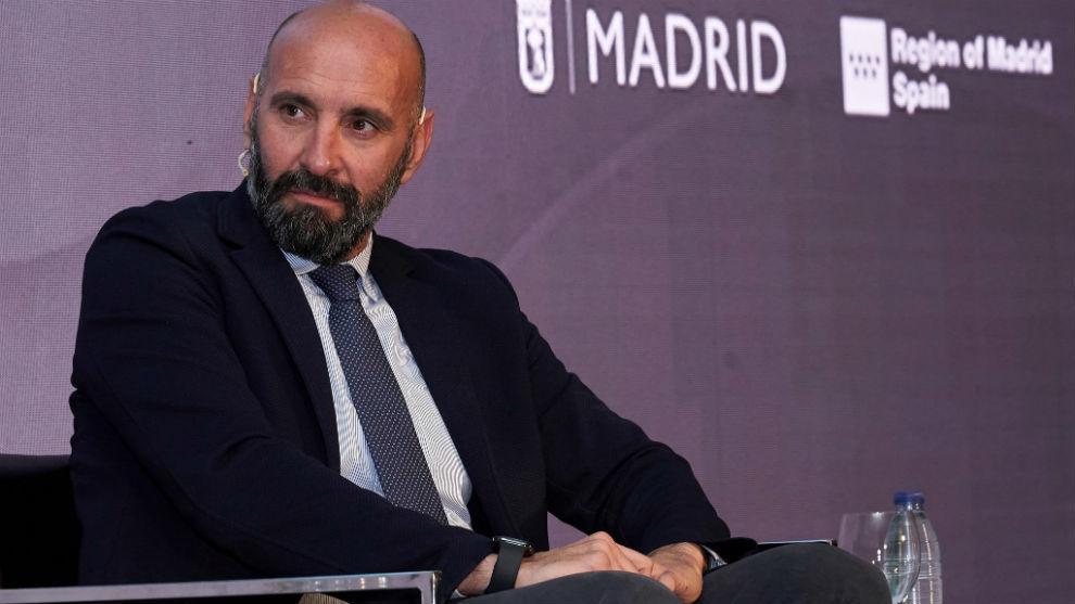 El director general deportivo Monchi (50).