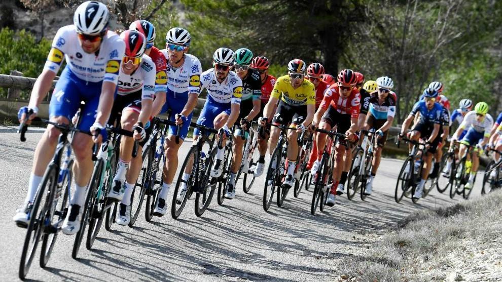 Imagen del pelotón de la presente temporada ciclista.