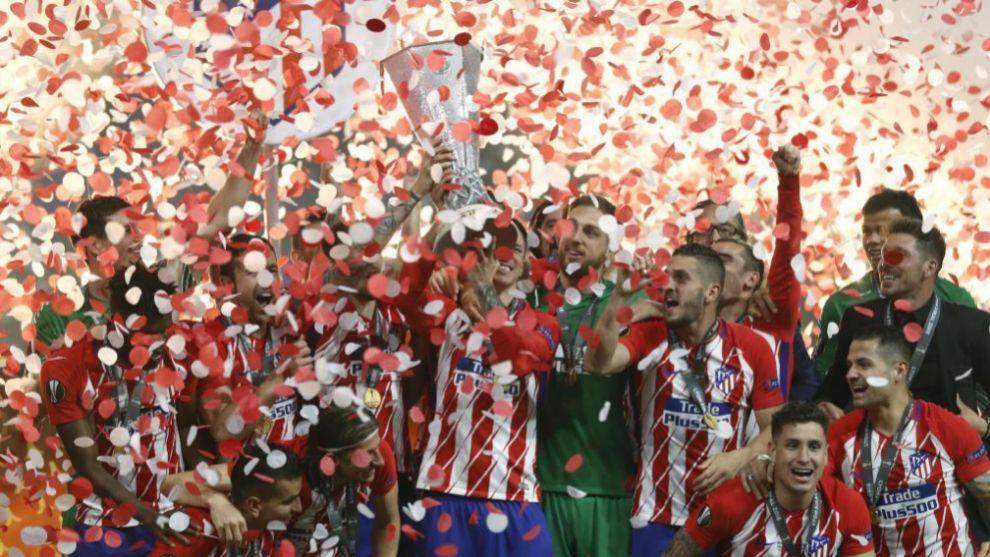 Fernando Torres levanta la Europa League para el Atlético de Madrid