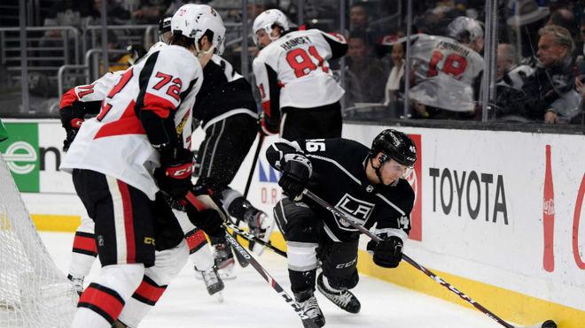 Un encuentro de la NHL