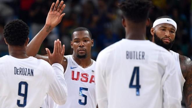 Kevin Durant, DeRozan, Jimmy Butler y DeMarcus Cousins jugaron con...