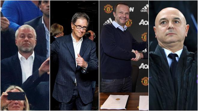 Abramovich (Chelsea), John Henry (Liverpool), Ed Woodward (United) y...