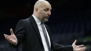 Aleksandar Djordjevic, entrenador de la Virtus Bolonia