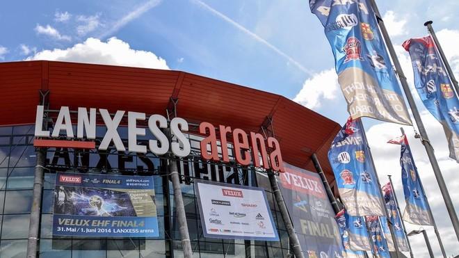 El Lanxess Arena de Colonia, sede de la Final Four masculina de...