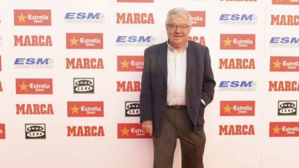 Josep María Minguella durante una gala MARCA