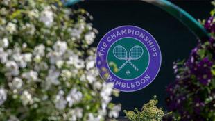 El escudo de Wimbledon