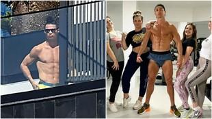 """""""Cristiano dijo que iba a Portugal por su madre pero sólo cuelga fotos en la piscina"""""""