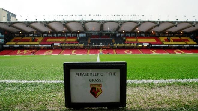 Estadio del Watford.