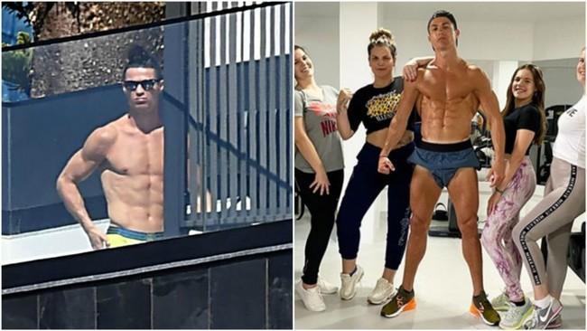 """""""Cristiano dijo que se iba a Portugal por su madre pero sólo pone fotos en la piscina"""""""
