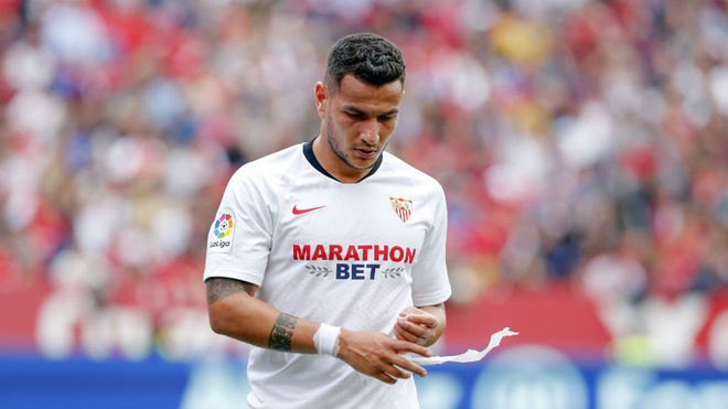 Rony Lopes, substituted in the match against Osasuna.