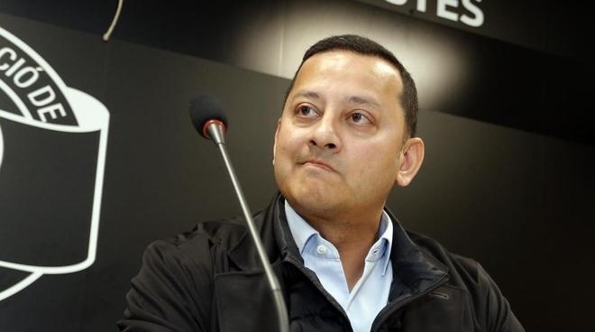 Anil Murthy in the Peñas.